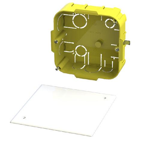 caja derivación enlazable para pladur 110x110x40 con t/tornillo