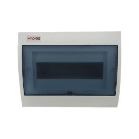 Caja distribucion electrica Superficie IP30 de 10 modulos Blanco