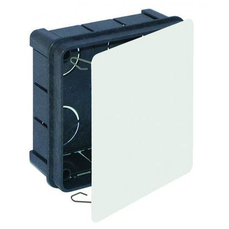 Caja Electricidad 100X100Mm Empalme Solera Cuadrada Tapa Garra 562