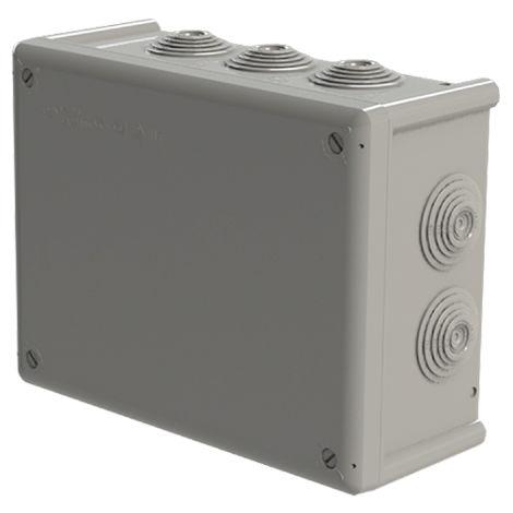 caja estanca 10 conos 200x155x85 t/torn.