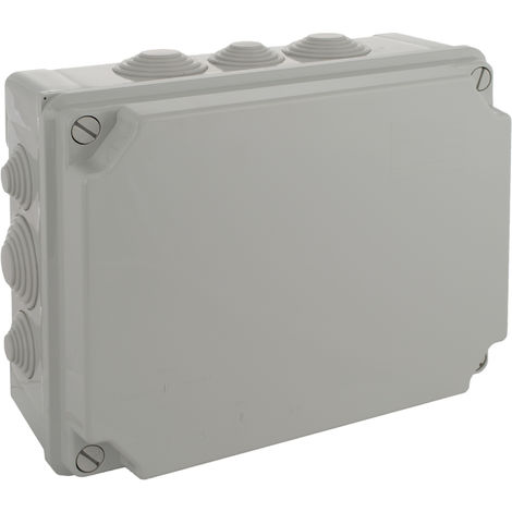 Caja estanca .310x240x125. 4 conos para tu SOLERA 100888