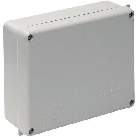 Caja estanca ciega 220x170x80mm. Tornillos 1/4 vuelta (Solera 886)
