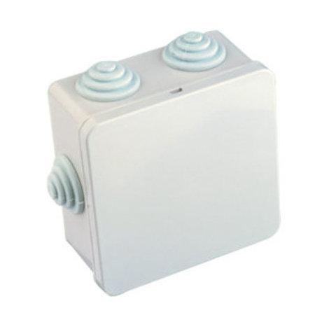Caja estanca de superficie cuadrada de 80 x 80 x 40 mm Electro Dh 36.435 8430552080137