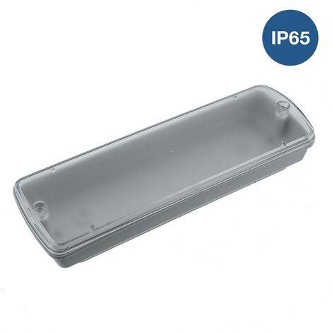 Caja estanca de superficie IP65 para luz de emergencia