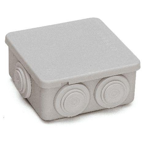 Caja estanca IP55 80x80x36 cm Gris