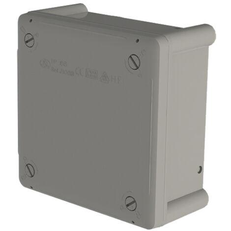 caja estanca lisa 100x100x55 t/tornillo