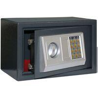 Caja fuerte electrónica digital, 31 x 20 x 20 cm