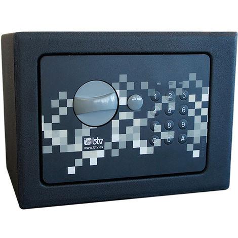 Caja fuerte sobreponer pixel BTV 17 Negra