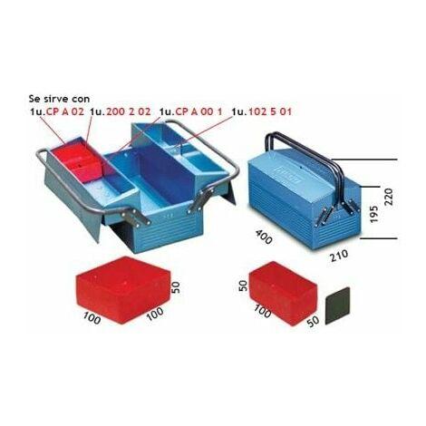 Caja Herram 400x210x195mm Met 102.5 Heco