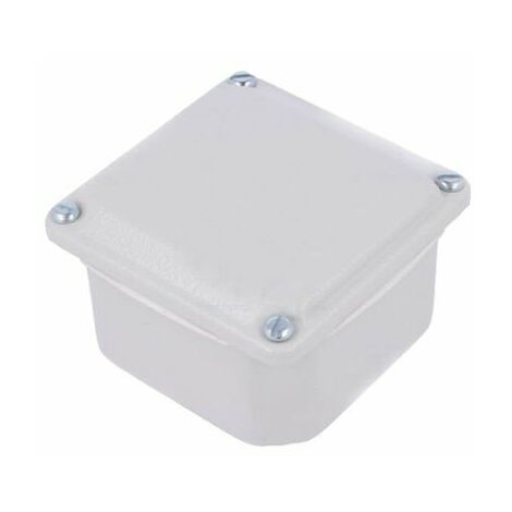 Caja metálica 85x85x49 Schneider NSYDBN88