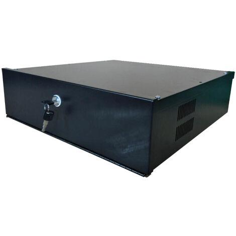 Caja Metalica Cerrada Para Dvr Lockbox-4u