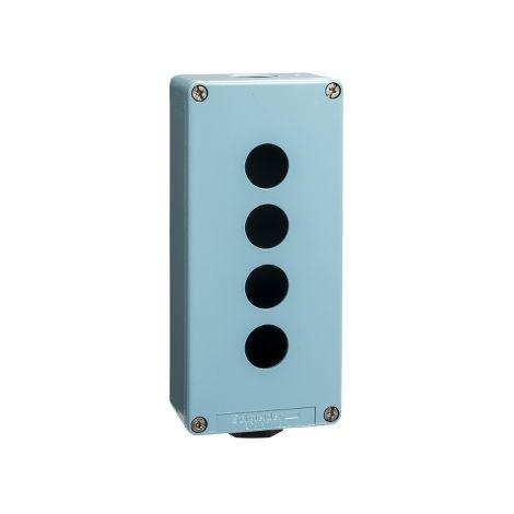 CAJA METALICA VACIA 4 TALADROS SCHNEIDER ELECTRIC XAPM3504