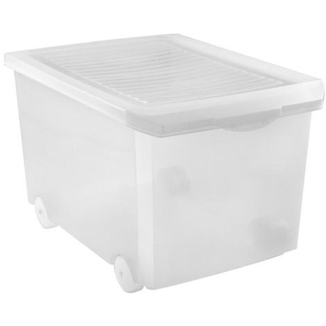 Caja Multiuso C/rueda Transp. - TATAY - 1152401 - 60 L