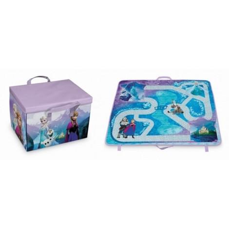Caja orden 31x41x28cm pp/carton tapete juegos frozen domopak