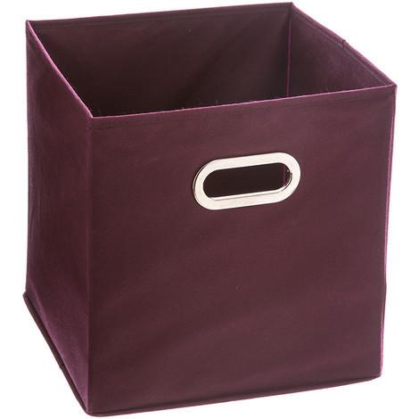 Caja Organizadora Color Morado Para Estanteria 31X31X31Cm - NEOFERR