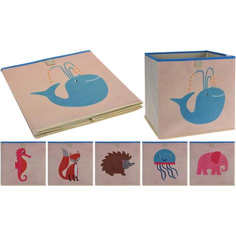 Caja Organizadora Infantil Para Estanteria 31X31X31Cm - NEOFERR