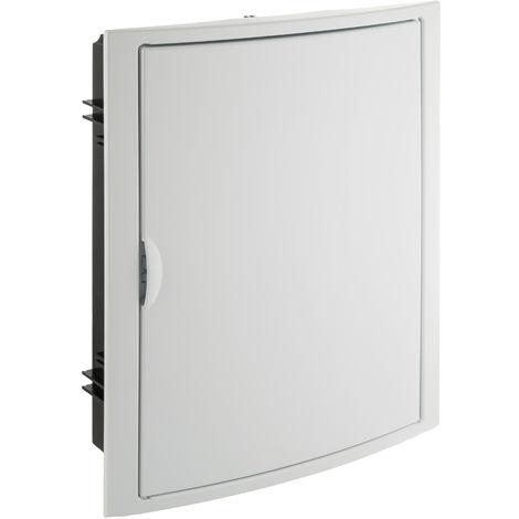 Caja para distribución. Con puerta y marco blancos. De 320x4 SOLERA 5250