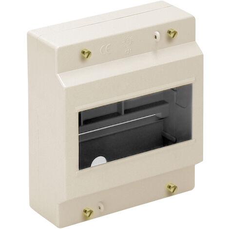 Caja para distribución de superficie hasta 6 elementos 120x140x58mm. (Solera 621)