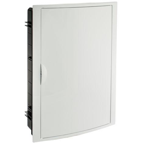 Caja para distribución.Marco y puerta blancos. De 360x528x86 SOLERA 5260