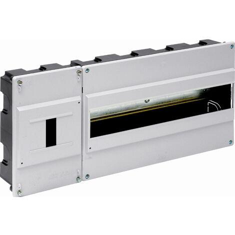Caja para ICP y distribución de empotrar hasta 16 elementos marfil 420x188x55mm. (Solera 880)
