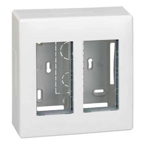Simon 8200760-030 Caja Superficie 2 Elem Blanco
