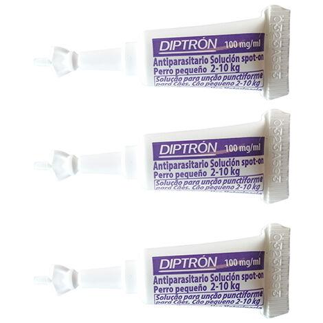 Caja Pipetas Antiparasitarias DIPTRON para perros 10-20 Kg anti pulgas y garrapatas - 3 Pipetas