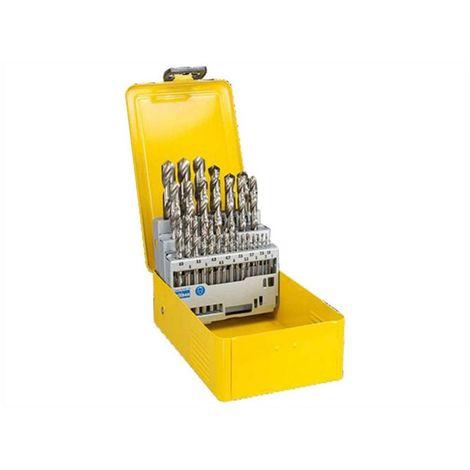 Caja plastica 10 piezas: 1 a 10 mm HSS-G - DEWALT - Ref: DT5921-QZ
