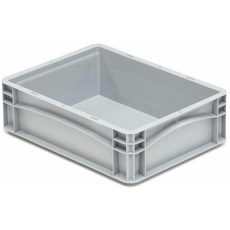 Caja plástica para transporte norma Europea serie Basicline