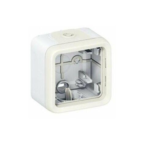 Caja superficie simple estanco blanco Legrand Plexo 069689