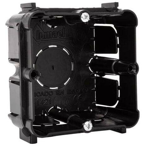 Caja universal de empotrar enlazable mecanismos