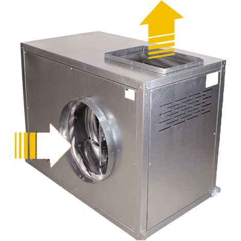 CAJA VENTILACION IMPULSION VERTICAL LG0 VSA-MU 400º/2H 12/6 0,75KW (1CV)
