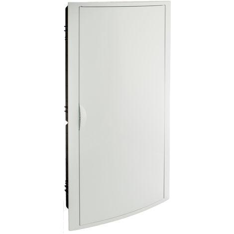 Cajas para distribución.Marco y puerta blancos. De 320x670x7 SOLERA 5270