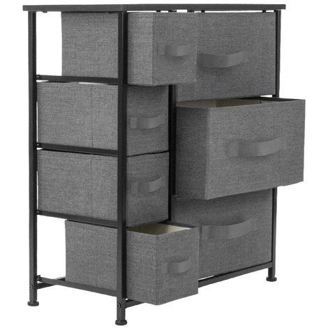 Cajón no tejido tipo MDF gabinete de almacenamiento de metal 64*30*71cm
