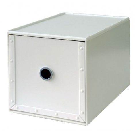 Cajonera Ordenacion Multiusos 168X264X173Mm ApilaBlancoe Plastico Blanco Way-Be