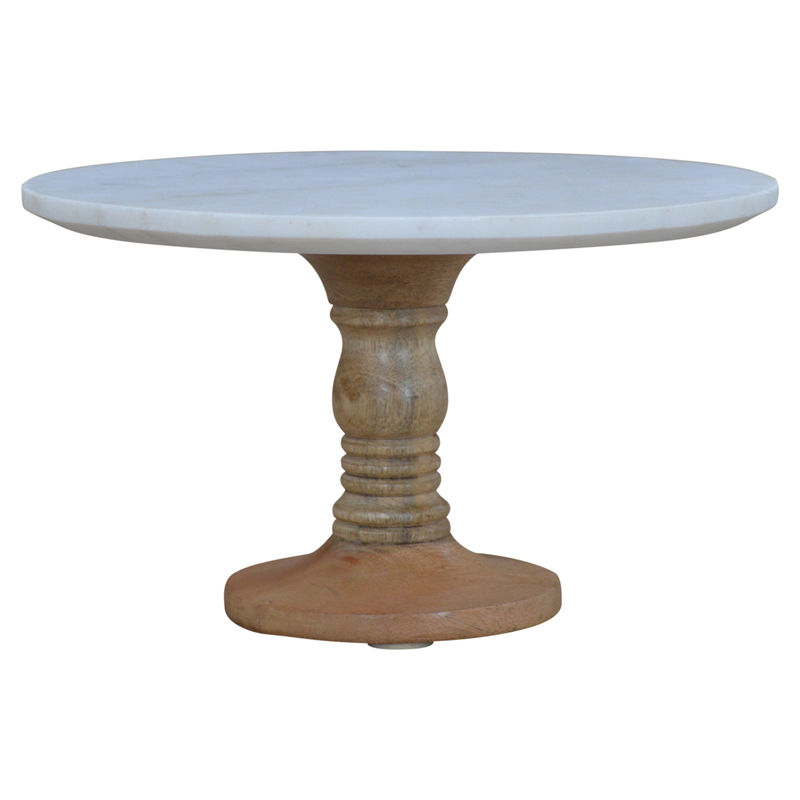 Image of Cake Stand With Marble Top