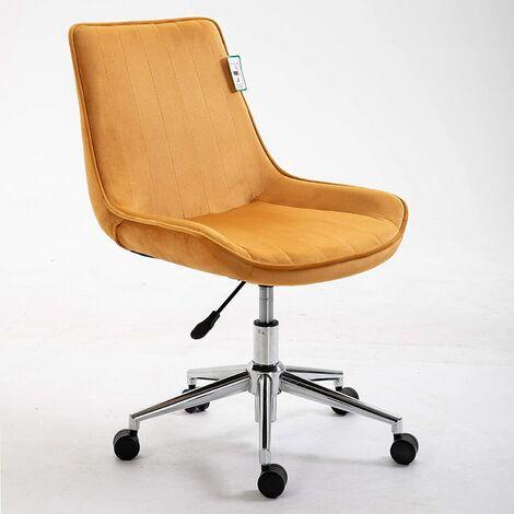 Cala Desk Chair Swivel Chair with Chrome Base