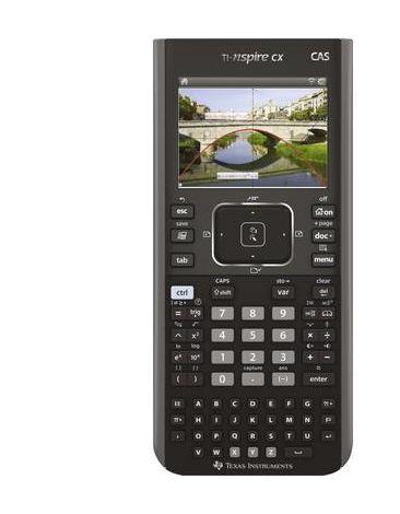 Calculatrice graphique Texas Instruments TI-Nspire™ CX CAS noir à batterie