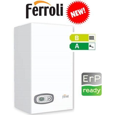 Caldaia a Condensazione Ferroli Divacondens F24 24kW Metano ErP Kit Fumi Omaggio