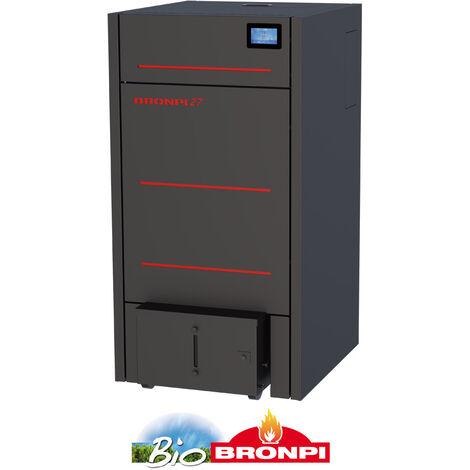 Caldera Pellet HYDROCONFORT 27 Kw C/Sistema De Limpieza Y Compactador De Cenizas + Kit de tubería salida de humos y portes gratis