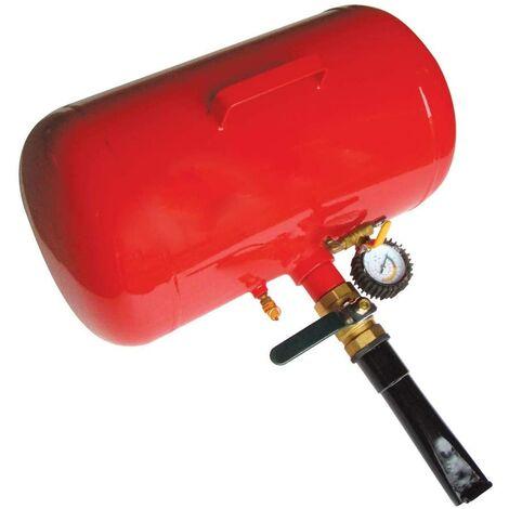 Calderin Compresor Aire Comprimido 38 LITROS con Manómetro - Talonador Ruedas Neumáticos