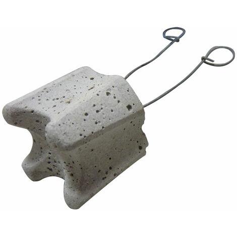 cale béton horizontale avec fils 40 mm (sac de 300 pièces)