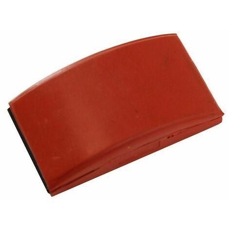 Cale caoutchouc rouge 70x125mm