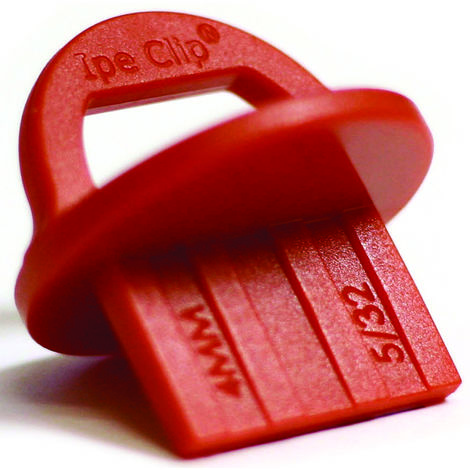 CALE D ECARTEMENT DECKWISE SPACER RED 4MM (20 pièces)