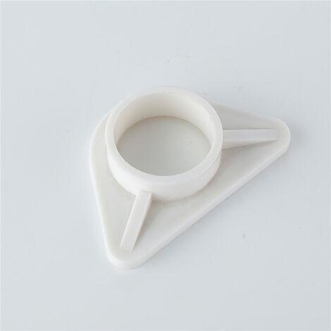 Câle de Fixation pour Robinet de Cuisine Fixation Plastique Pièce de Robinet pour Evier de Cuisine Siège de Fixation Mitigeur d'Evier