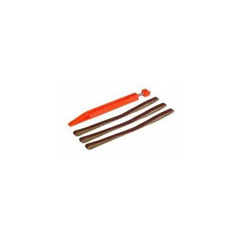 cale de poncage - lime désignation grain 40 (x2) / 80 (x3)caractéristiques jeu de 5 bandes