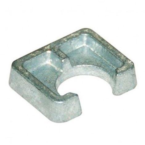 Cale d'épaisseur courte BF1 D16 x Ep. 8 mm pour structures métalliques - Galvanisé - BF1G16 - Autre