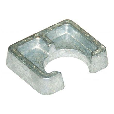 Cale d'épaisseur courte BG1 D12 x Ep. 12 mm pour structures métalliques - Galvanisé - BG1G12 - Autre