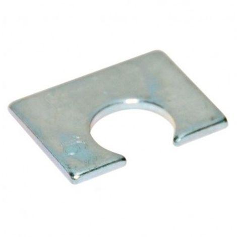 Cale d'épaisseur courte BH1 D12 x Ep. 2,5 mm pour structures métalliques - Zingué - BH1Z12 - Autre