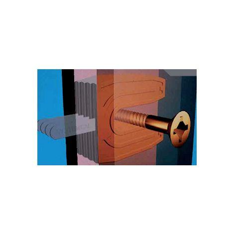 """main image of """"Cale fourchette 701 PRUNIER SAS - Neutre - 30x40 mm pour vis de Ø7 mm - Boite 1000 - SCJP701"""""""