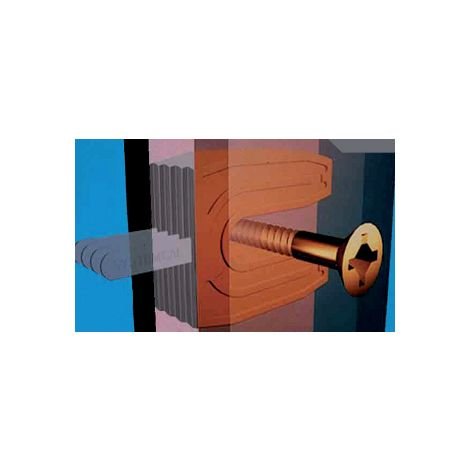 """main image of """"Cale fourchette 720 PRUNIER SAS - Neutre - 36x45 mm pour vis de Ø10 mm - Boite 800 - SCJP720"""""""